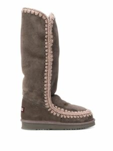 Mou eskimo high-knee boots - Grey