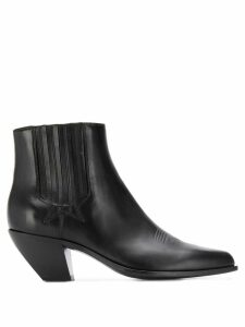 Golden Goose Sunset Flowers ankle boots - Black