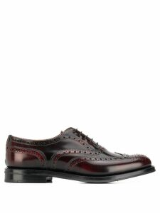 Church's classic Derby shoes - Red