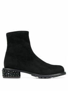 Giuseppe Zanotti crystal-embellished ankle boots - Black
