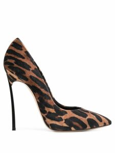 Casadei animal-print pumps - Brown