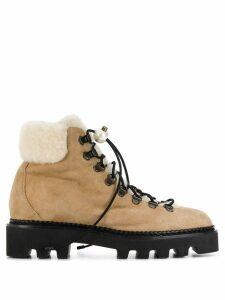 Nicholas Kirkwood Delfi hiking boots - Neutrals