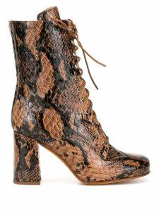 Maryam Nassir Zadeh Emmanuelle boots - Brown