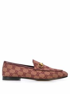 Gucci Jordaan GG loafers - Red