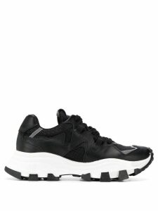 Cinzia Araia contrast low-top sneakers - Black