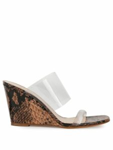 Maryam Nassir Zadeh Olympia wedge sandals - Brown