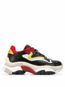 Ash platform sneakers - Black