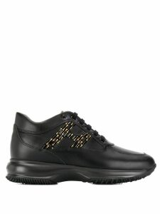 Hogan Interactive lace-up sneakers - Black