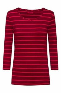 Slim-fit jersey top with soft ribbing