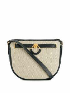 Mulberry Brockwell Canvas smooth shoulder bag - Blue