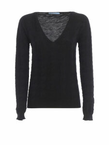 Blumarine V Neck Sweater