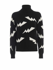 Parosh Lightning Turtleneck Sweater