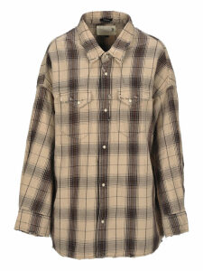 R13 Oversized Cow-boy Style Shirt