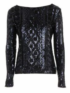 Max Mara Cesena Sweater W/paillettes