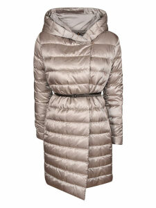 Max Mara Padded Hooded One-sided Coat