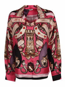 Miu Miu Printed Oversized Shirt
