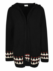 Saint Laurent Nature Woman Knit Hoodie