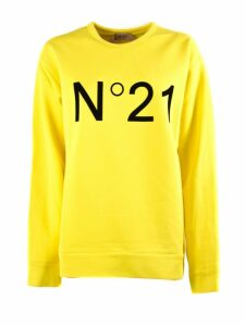 N.21 Yellow Cotton Sweatshirt