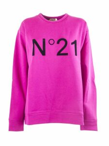 N.21 Fuchsia Cotton Sweatshirt