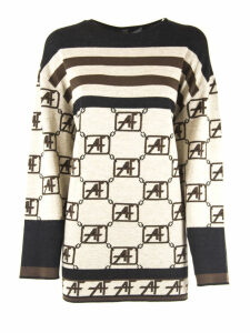 Alberta Ferretti Beige Virgin Wool Sweaters