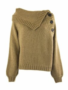N.21 Camel-tone Wool And Mohair Blend Sweater