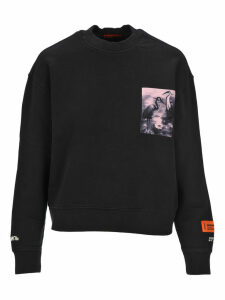 HERON PRESTON Heron Preston Heron Patch Sweatshirt