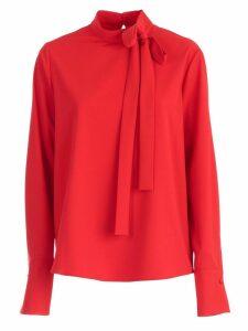 Be Blumarine Shirt L/s W/knot Cady