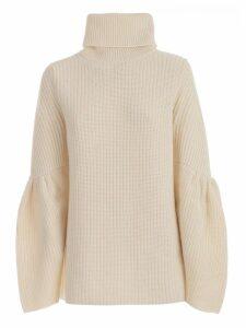 Be Blumarine Sweater L/s High Neck W/wide Sleeve