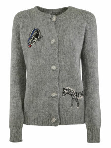 Stella McCartney Embroidered Cardigan