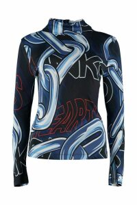 Pinko Printed Jersey Top