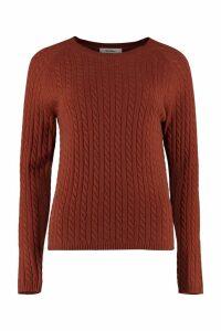 Max Mara Fleur Cable Knit Pullover