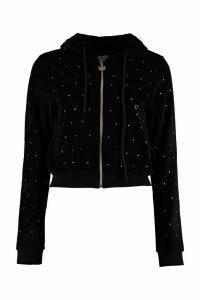 Chiara Ferragni Embellished Chenille Sweatshirt