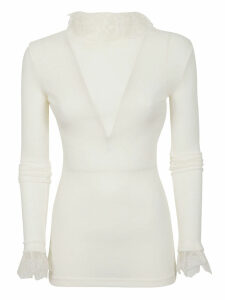 Philosophy di Lorenzo Serafini Lace Detail Sweater