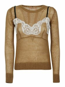 N.21 Lace Detail Sweater
