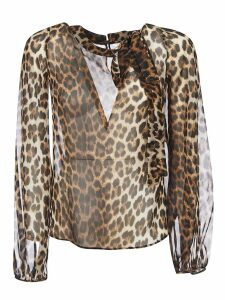 N.21 Animal Print Blouse