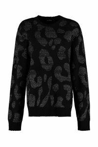 Marcelo Burlon Long-sleeved Crew-neck Sweater