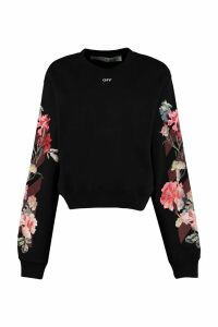 Off-White Printed Crew-neck Sweatshirt