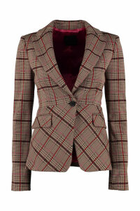 Pinko Penare One-button Jersey Blazer
