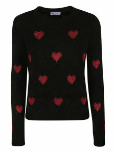 RED Valentino Heart Sweater