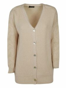 Ermanno Scervino Ribbed Cardigan
