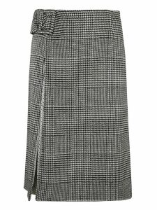Ermanno Scervino Buckled Waist Skirt