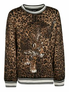 Dolce & Gabbana Animal Print Sweatshirt