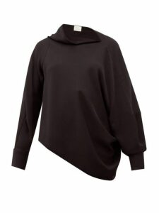 Hillier Bartley - Pillowcase Asymmetric Crepe Blouse - Womens - Black