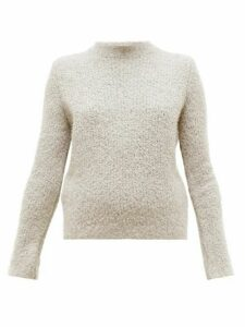 Gabriela Hearst - Phillipe Cashmere-blend Bouclé Round-neck Sweater - Womens - Beige