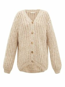 The Row - Seilde Cashmere-blend Cardigan - Womens - Beige