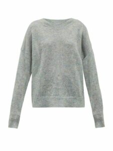 Isabel Marant Étoile - Cliftony Mohair-blend Sweater - Womens - Grey