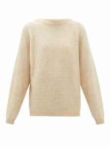 Acne Studios - Moh Ribbed Boat Neck Sweater - Womens - Beige