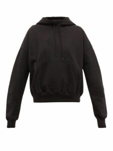 Wardrobe. nyc - Cotton-jersey Hooded Sweatshirt - Womens - Black