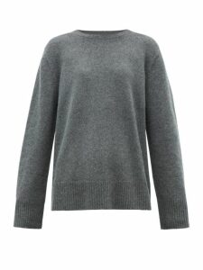 The Row - Sibel Oversized Wool-blend Sweater - Womens - Grey