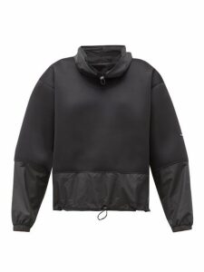 Adidas By Stella Mccartney - Run Contrast Panel Sweatshirt - Womens - Black